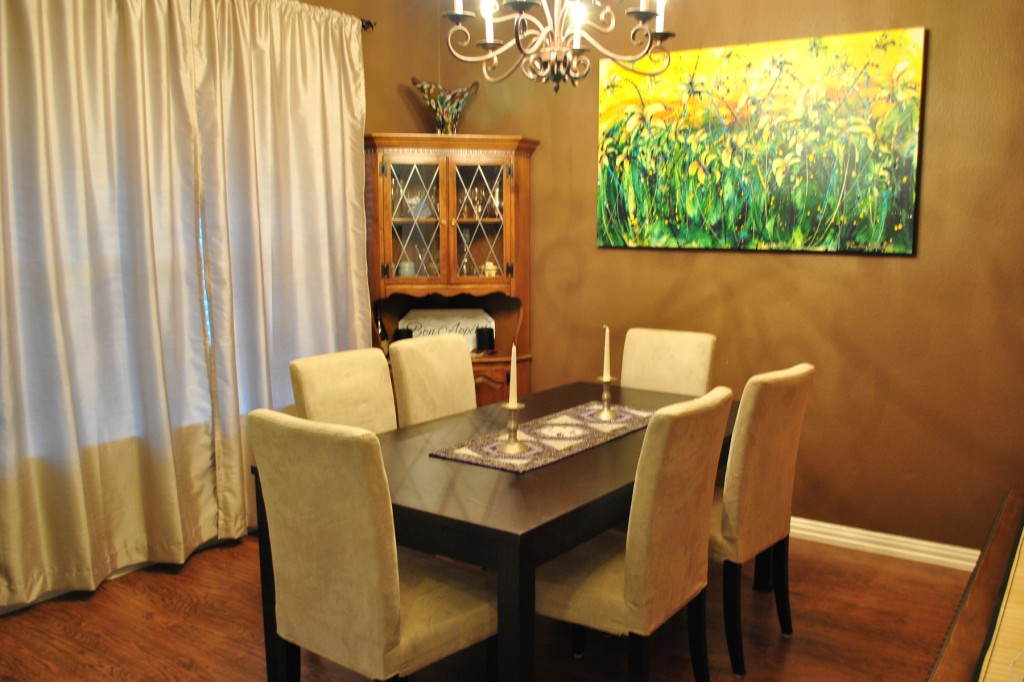 Simplify Your Dining Room