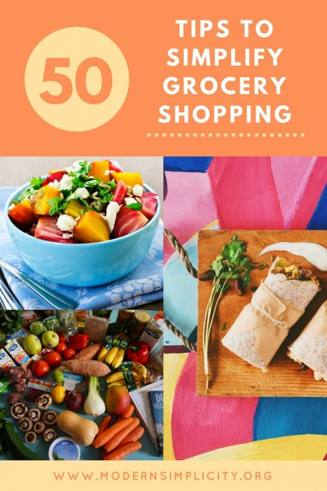 50 Tips to Simplify Grocery Shopping