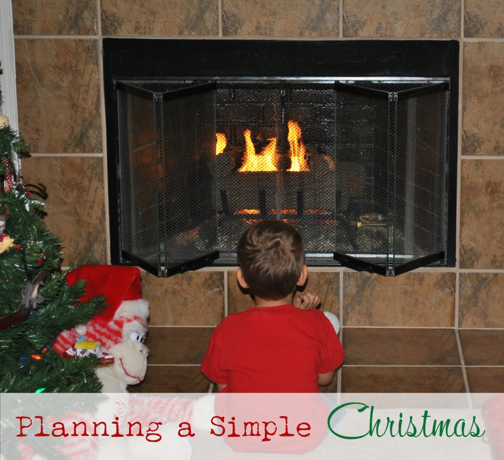 Planning a Simple Christmas