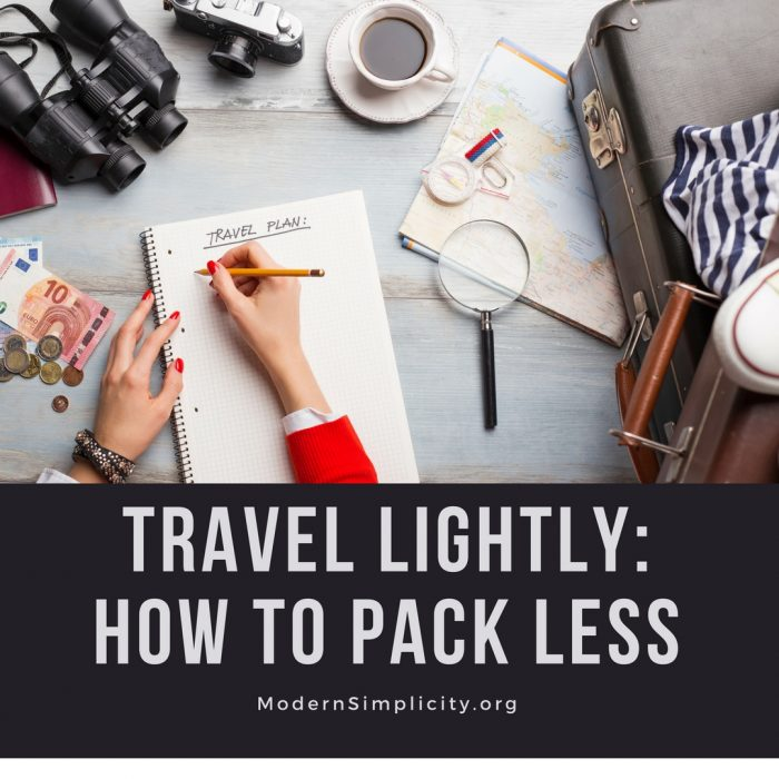 Travel Lightly: How to Pack Less