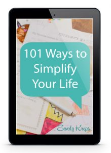 101 Ways to Simplify Your Life