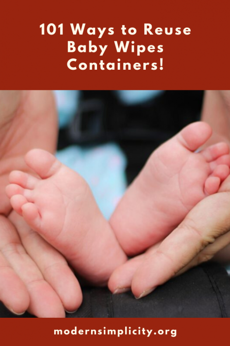 101 Ways to Reuse Baby Wipes Containers!